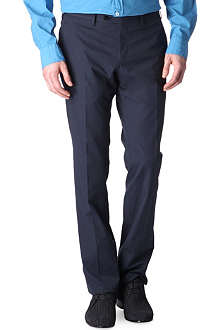 LANVIN Raw seam trousers