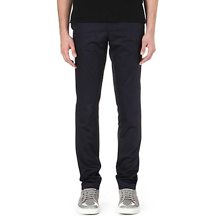 LANVIN Slim-fit chinos (Navy