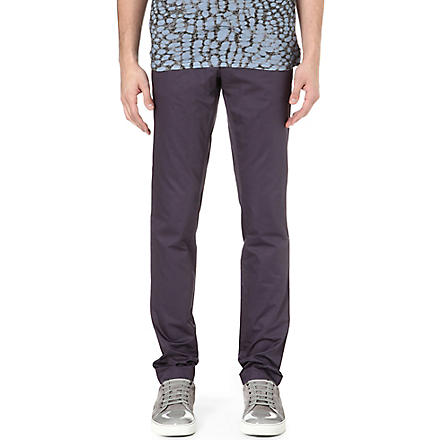 LANVIN Slim-fit chinos (Violet