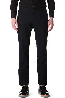 LANVIN Sporty slim-fit trousers