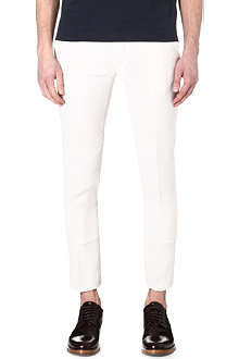 LANVIN Slim-fit cropped trousers
