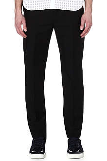 LANVIN High-waisted wool-blend trousers