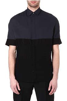 LANVIN Panelled semi-sheer shirt