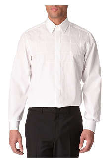 LANVIN Square-panel single-cuff shirt
