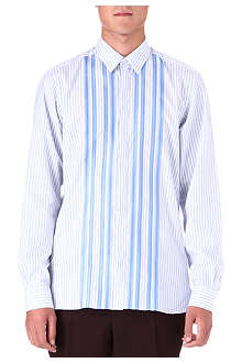 LANVIN Slim-fit striped shirt