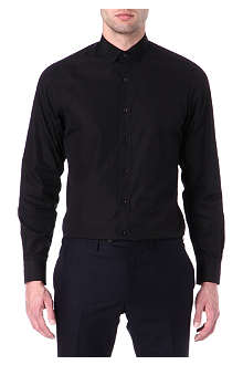 LANVIN Grosgrain-collar shirt