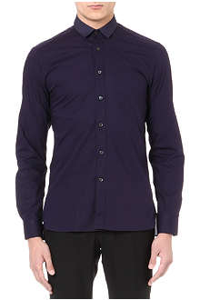 LANVIN Grosgrain collar shirt