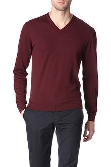 LANVIN Grosgrain-detailed jumper