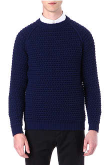 LANVIN Rag cable knitted jumper