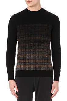 LANVIN Degradé patterned jumper