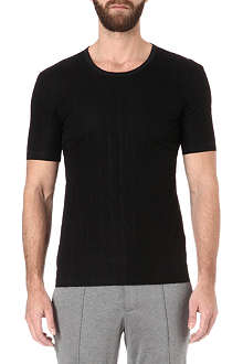 LANVIN Quilted panel t-shirt