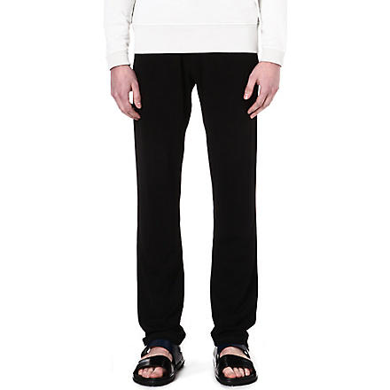 LANVIN Jersey jogging bottoms (Black