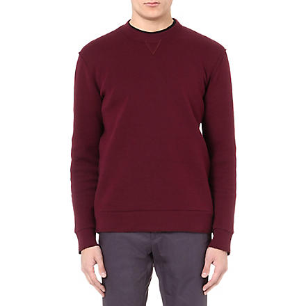 LANVIN Tech sweatshirt (Burgundy