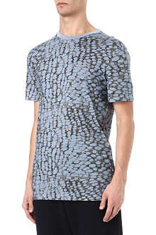 LANVIN Burn Out print t-shirt