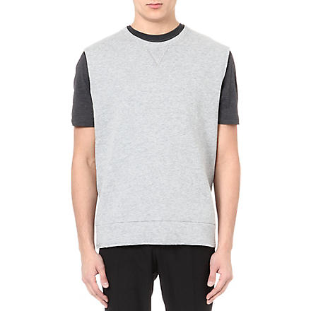 LANVIN Sleeveless sweatshirt (Grey