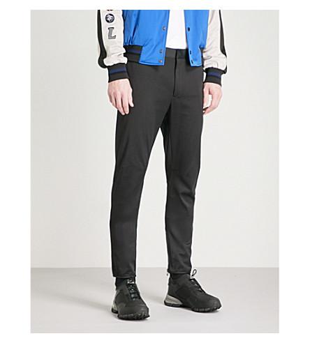 LANVIN Zipped cotton trousers (Black