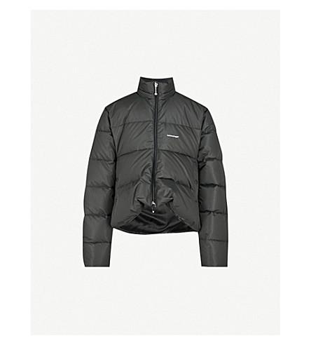 BALENCIAGA C-Shape shell puffer jacket (Noir