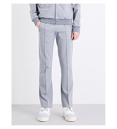 BALENCIAGA Brand-print neoprene jogging bottoms (Brume
