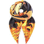 GIVENCHY Bambi in flames scarf