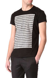 JONATHAN SAUNDERS Block panel t-shirt