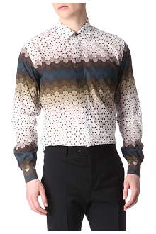 JONATHAN SAUNDERS Ombré circles printed single-cuff shirt