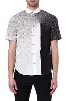 JONATHAN SAUNDERS Pin-dot dégradé shirt