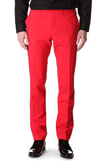 JONATHAN SAUNDERS Slim-fit trousers