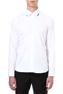 GIVENCHY Tab collar shirt