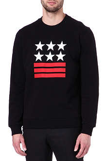 GIVENCHY Stars And Stripes sweatshirt