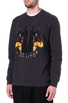 GIVENCHY Doberman sweatshirt