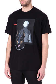 GIVENCHY Shadow Doberman t-shirt