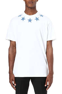 GIVENCHY Denim-star t-shirt