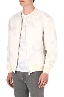 GIVENCHY Textured Madonna bomber jacket