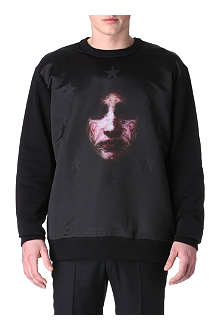 GIVENCHY Madonna star sweatshirt