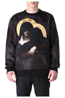 GIVENCHY Madonna textured sweatshirt