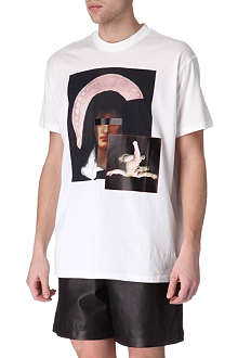 GIVENCHY Madonna child textured t-shirt