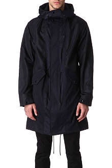 GIVENCHY Panelled parka jacket
