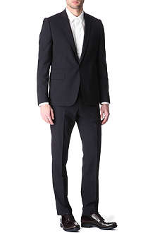 GIVENCHY Peak-lapel mohair suit