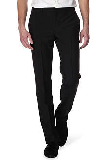 GIVENCHY Silk-insert trousers