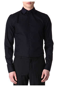 GIVENCHY Contrast-colour single-cuff shirt