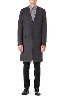 GIVENCHY Herringbone overcoat