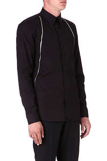 GIVENCHY Zip detail shirt