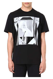 GIVENCHY Geometric statue t-shirt