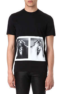 GIVENCHY The Girl Skull print t-shirt