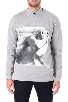 GIVENCHY Wrapped lady print sweatshirt