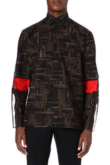 GIVENCHY Synth pattern shirt
