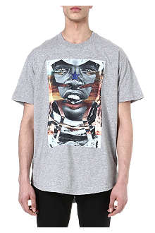 GIVENCHY Tribal Man Star print T-shirt
