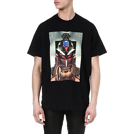 GIVENCHY Tribal face t-shirt (Black