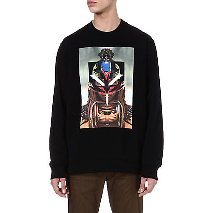 GIVENCHY Tribal face sweatshirt (Black