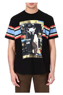 GIVENCHY Cat print t-shirt